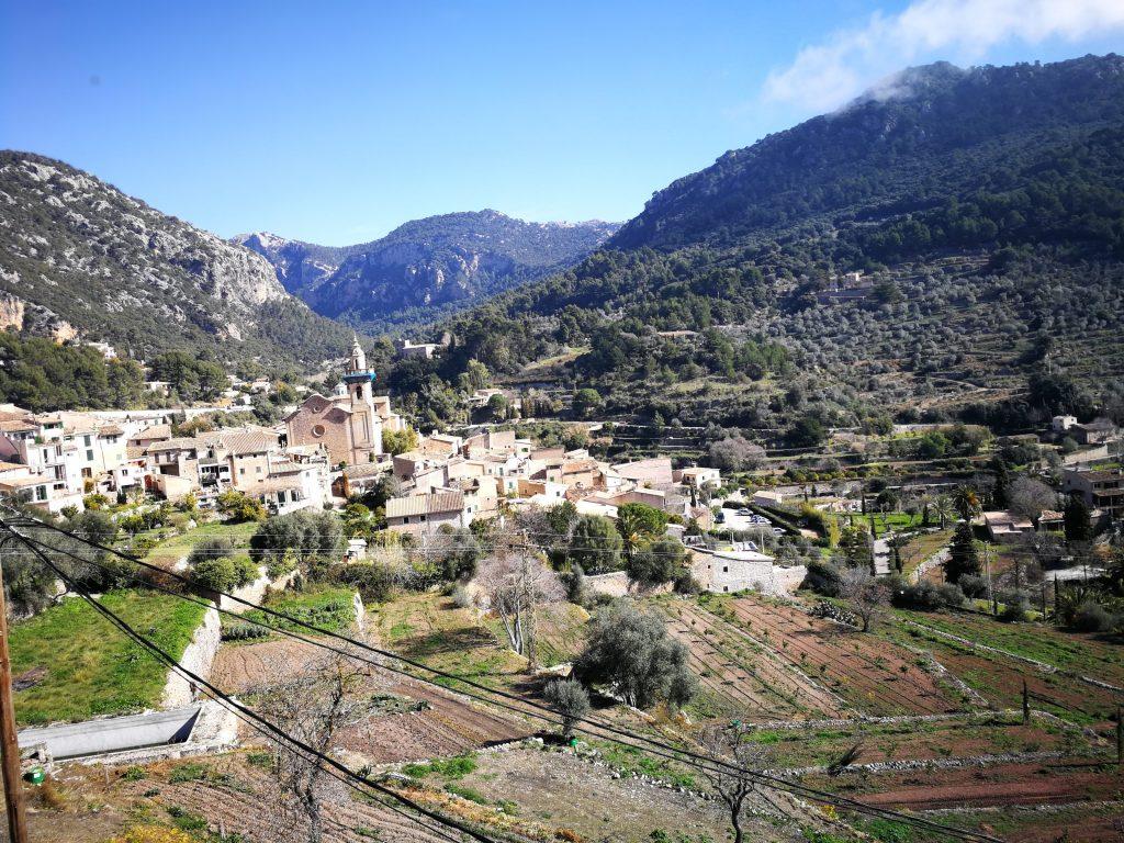 Vue Valldemossa - Majorque - En moins de deux