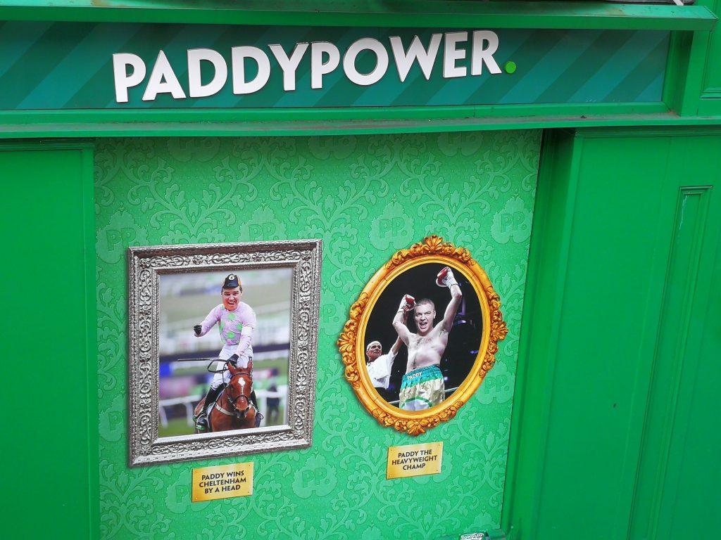 PaddyPower - Dublin - En moins de deux